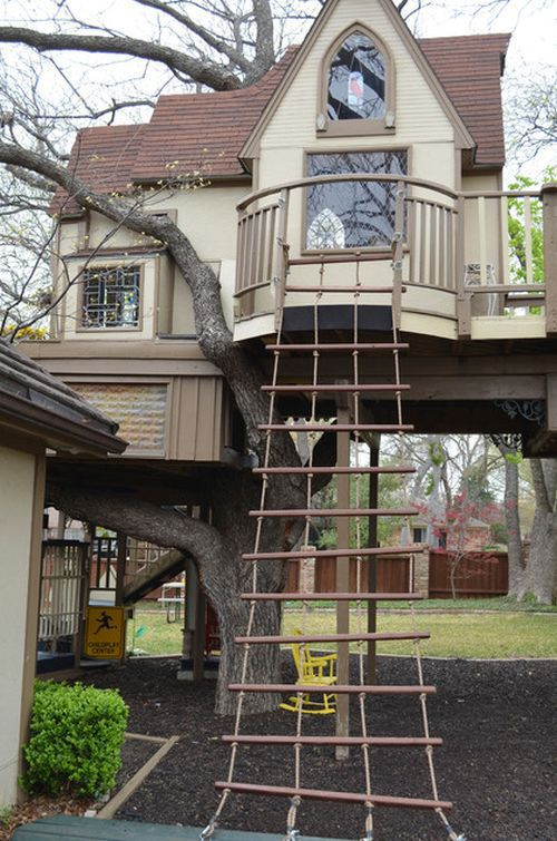 A Spectacular Designer Kiddies Tree House