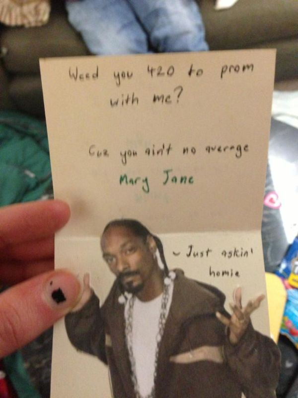 Girl Gets the Most Unique Prom Invitation Ever