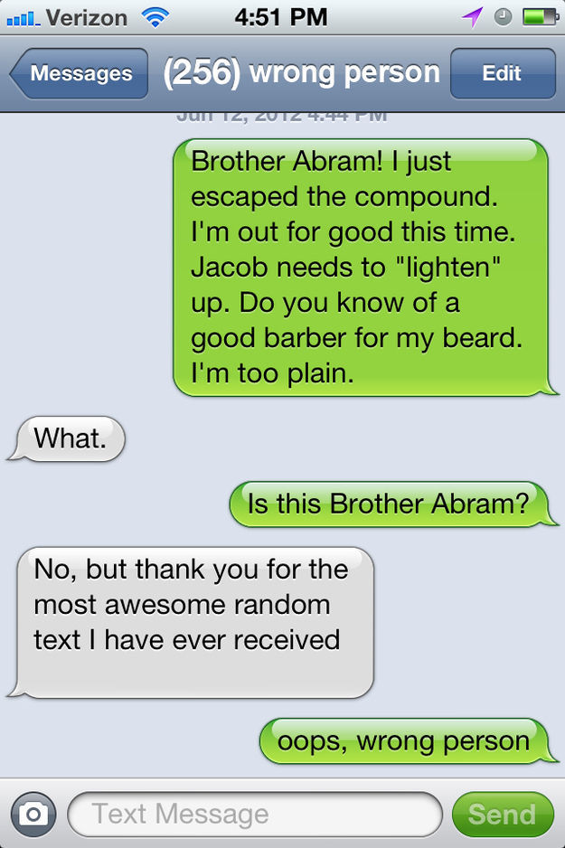 Instead of Prank Calls, Now We Have Prank Texts (37 pics