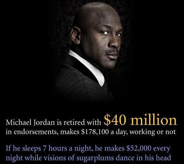 Michael jordan asshole