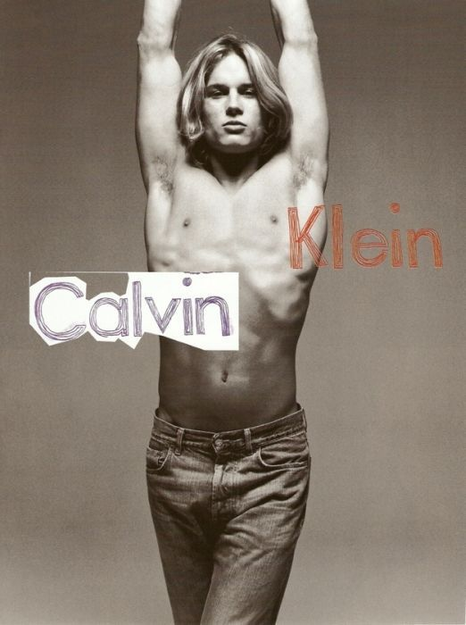 See This Macho Male Calvin Klein Model Today