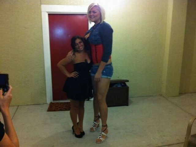 super tall women short men sex