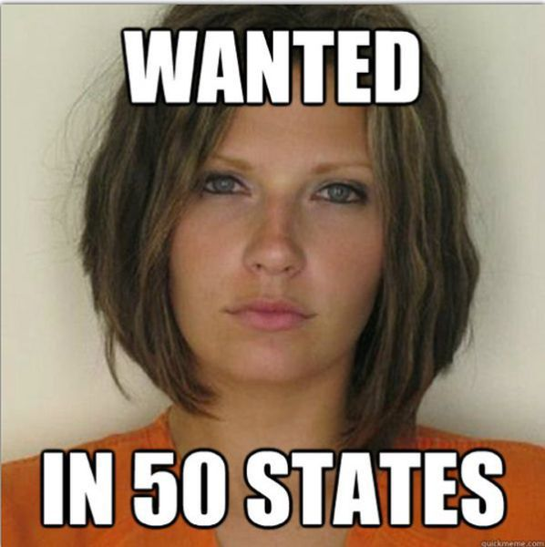 Pretty Female Convict Becomes a Cute Internet Meme
