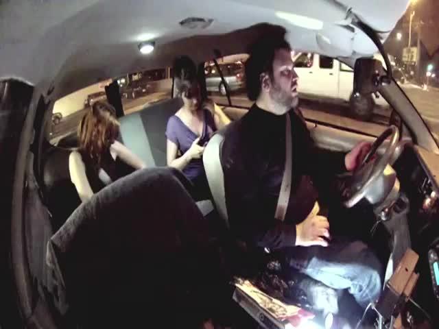 Crazy Cab Driver Scare Prank