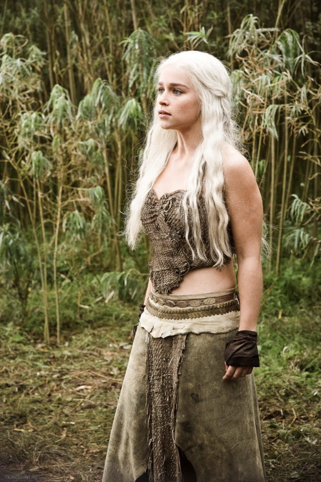 """Beautiful """"Game of Thrones"""" Star without Makeup"""