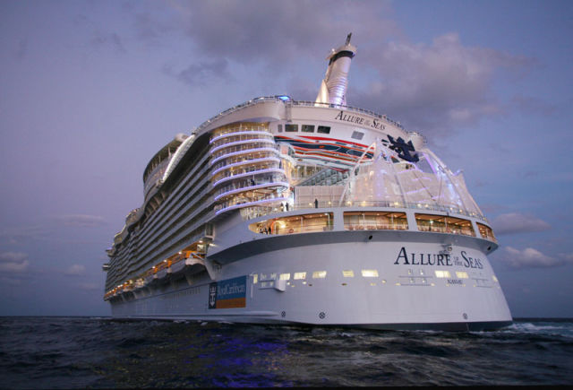 The Inner Workings of the World's Largest Cruise Ship