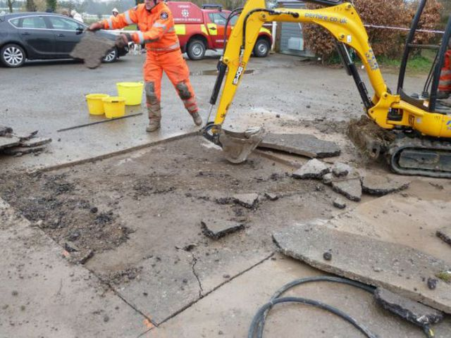 Here Comes a Digger to the Rescue…