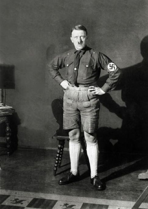 Banned Never-Before-Seen Photos of Hitler in Shorts