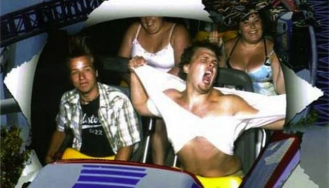 People Who Have Perfected Their Roller Coaster Poses