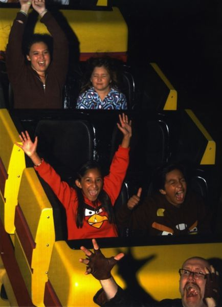 People Who Have Perfected Their Roller Coaster Poses 32