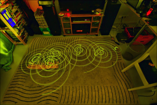 Really Awesome Robotic Vacuum Cleaner Art