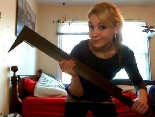 Here's Why All Girls Need a Scimitar…
