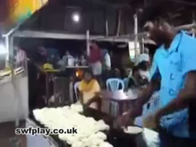 Fast Food in Bangladesh. Really Fast