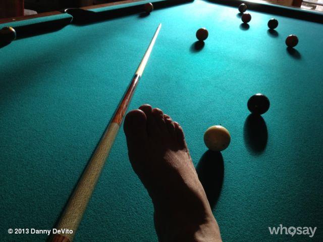 Danny Devito's Photobombing Trollfoot