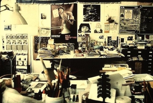 The Different Places Where Famous Creative People Go to Work