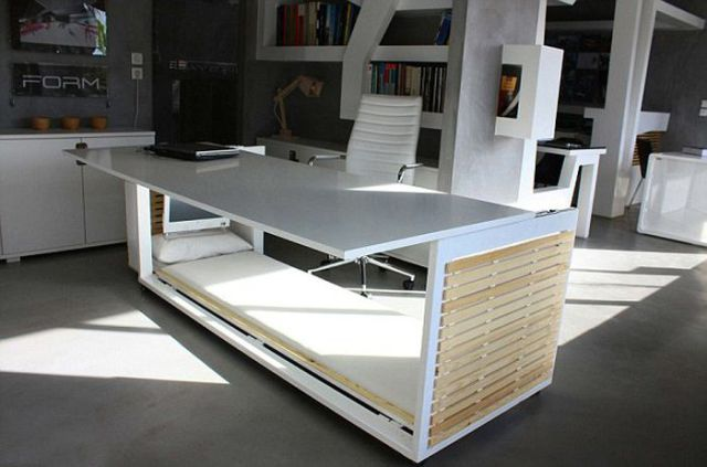 cool convertible office desk 4 pics