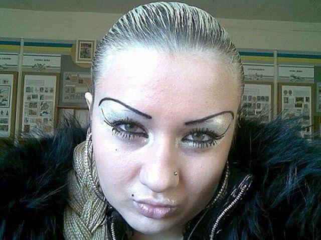 When Eyebrow Tweezing Goes Bad
