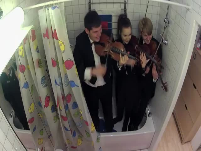Funny Surprise Orchestra Prank