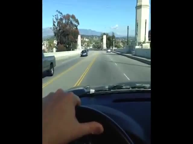 Arnold Schwarzenegger Driving Is Hilarious