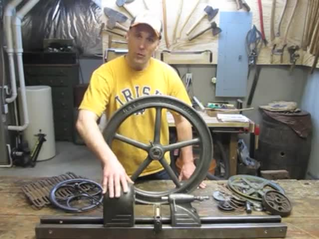 The Fascinating Making of a Foot Powered Lathe