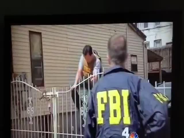 When an FBI Agent Climbs a Fence…