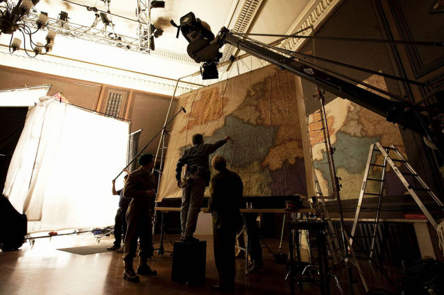 Photos of the Action That Takes Place Off-Camera on Movie Sets