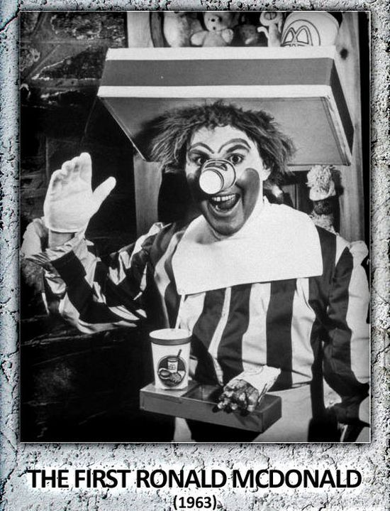 A Look Back at Ronald McDonald When He Was First Created