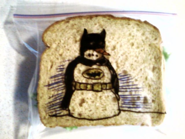 This Cool Dad Adds a Special Touch to His Son's School Lunch