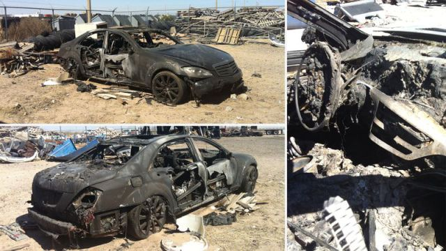 Expensive Luxury Vehicles Go Up in Flames