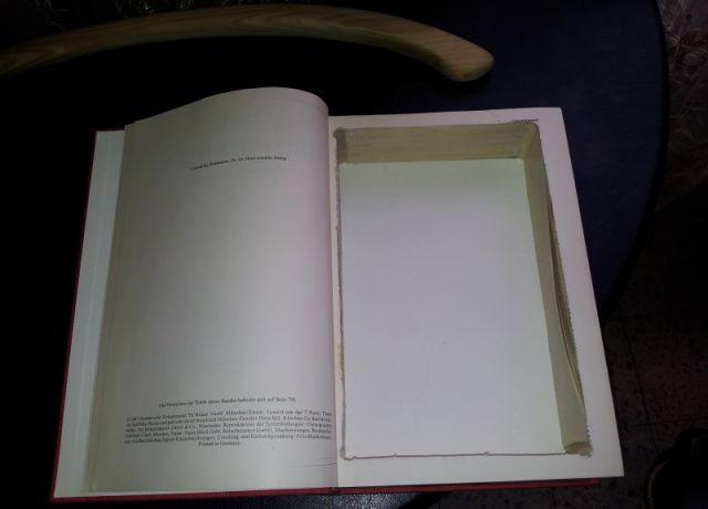 A DIY Secret Book Hiding Place