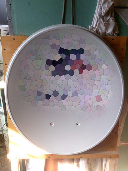 Artistic Fun with a Satellite Dish