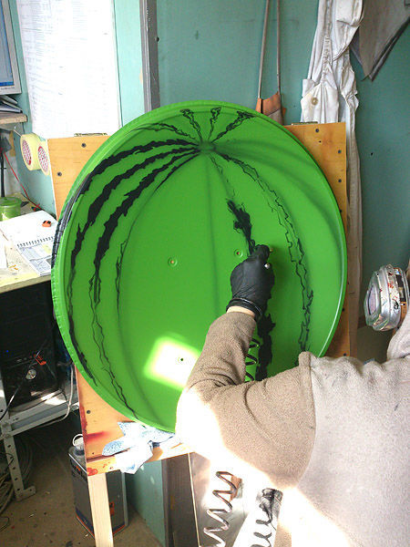 Artistic Fun with a Satellite Dish