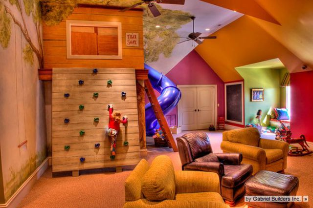10 Amazing Kids Room Ideas: Fantastically Fun And Fancy Kids Bedrooms (39 Pics