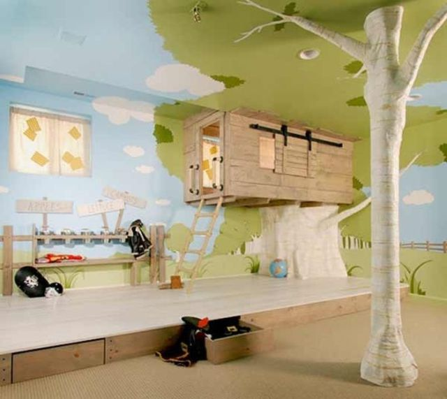 Fun Kids Rooms: Fantastically Fun And Fancy Kids Bedrooms (39 Pics