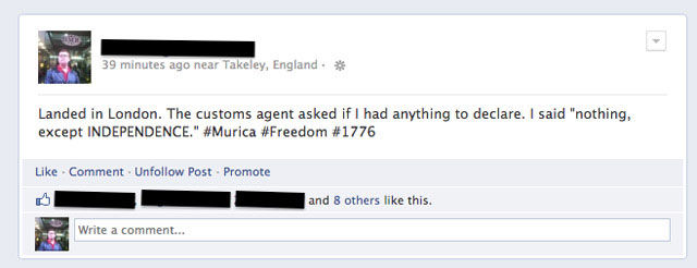 How Things Are Done in The United States Of 'Murica!
