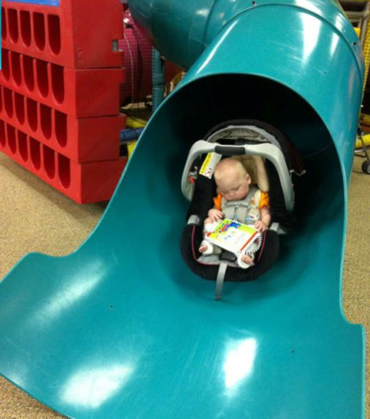 This Baby's First Visit to Kiddies Play Centre...