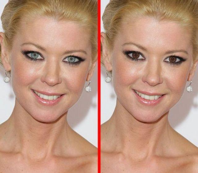 Famous Faces Get a Quick Eye-Colour Swop