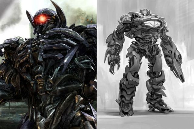 Original Concept Art Representing Iconic Movie Characters