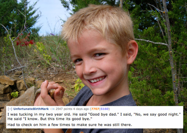 The Freakiest Comments Kids Have Ever Made to Their Parents