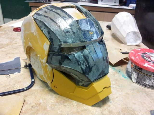 Totally Cool Homemade Iron Man Suit