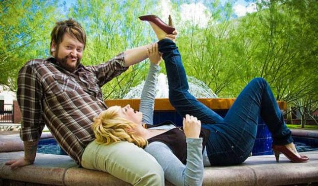 Odd and Eccentric Engagement Photos