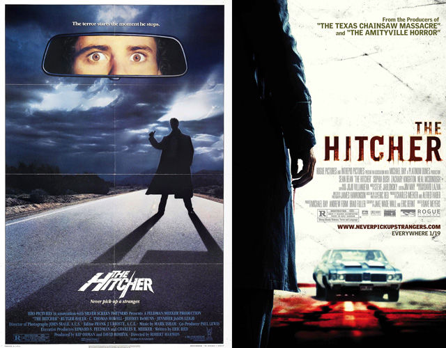 Original Horror Movie Posters vs. Re-creations!