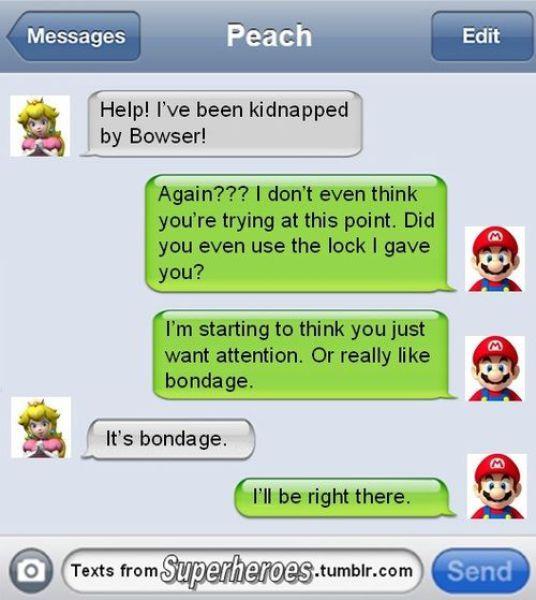 So Superheroes Send Texts Sometimes Too