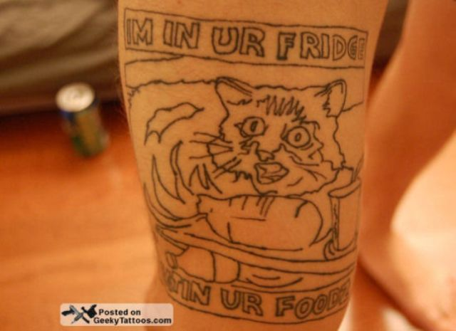 Totally Terrible Tattoos