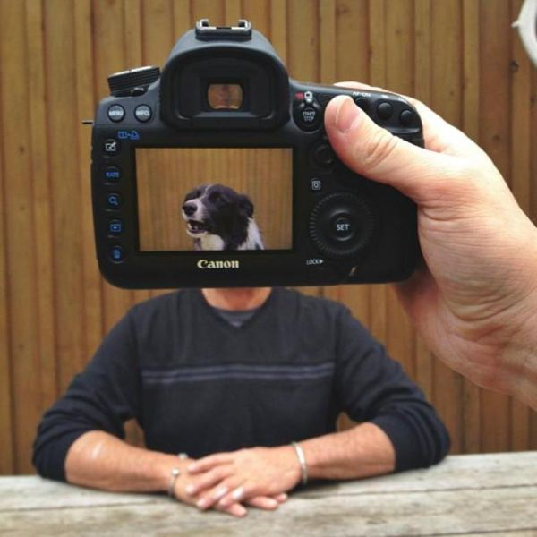 Pets and Owners Merge for Freaky Photo Project