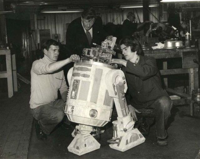 Photos from the 1977 Filming of Star Wars