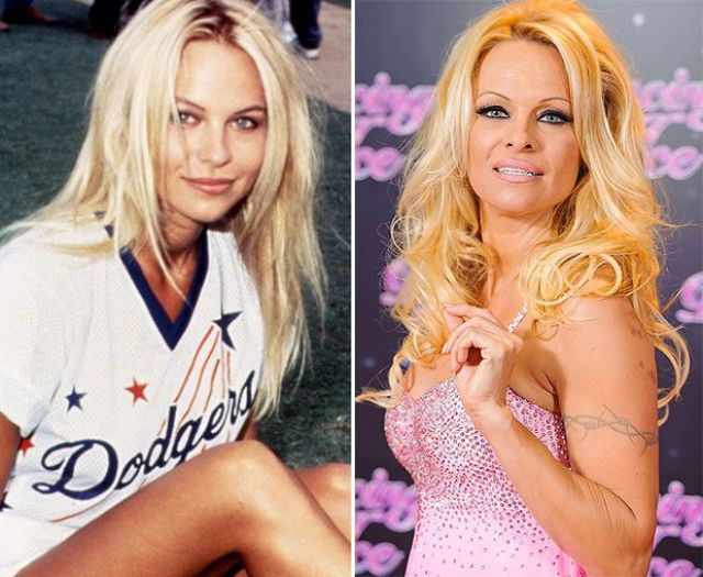 Stars in Their Youth vs. Stars Now