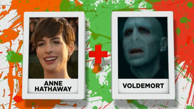 The Freakiest Hybrid Celebrity GIF Creations