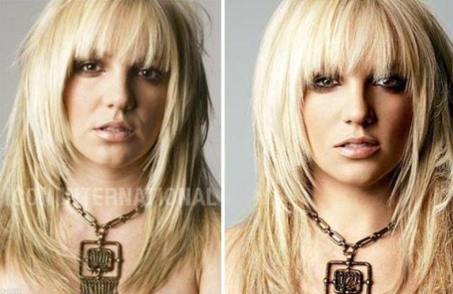 Celebrities Get the Photoshop Treatment