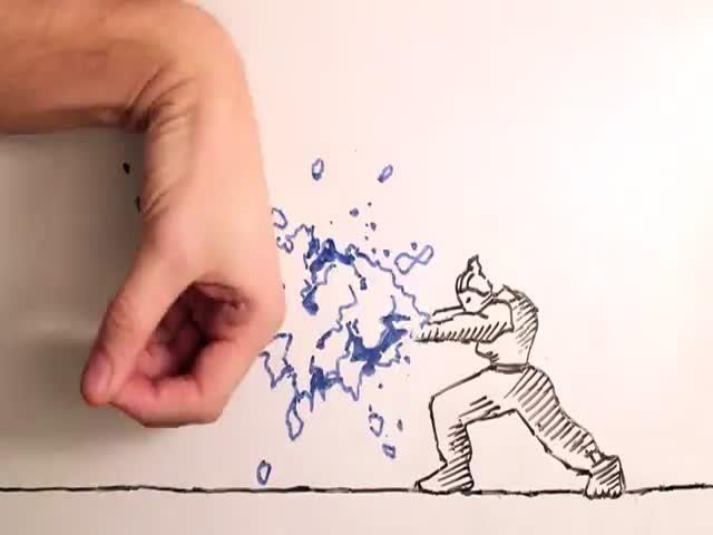 Animator vs Animation – Street Fighter Style